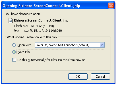 Elisnore.ScreenConnect Client